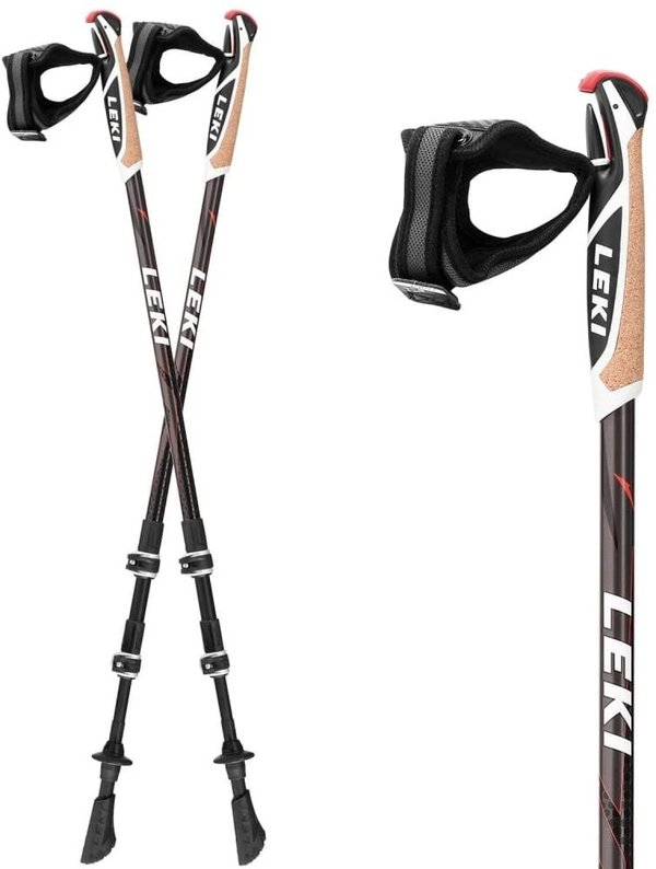 Leki Nordic-Walking-Stock Traveller Alu 65026011